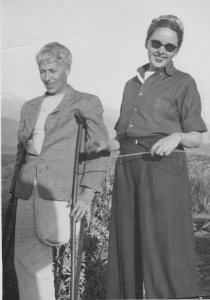 Dillwyn Parrish and M.F.K. Fisher in Hemet, circa 1941. Image courtesy of Counterpoint Press, Berkeley, Calif.