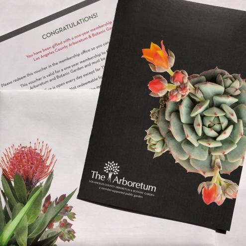Arboretum Gift Certificate